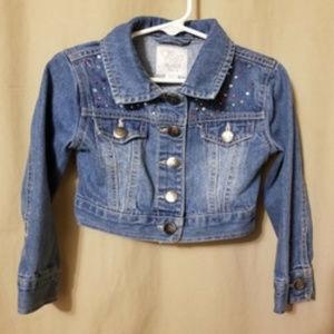 CHILDREN'S PLACE Est 1989 Girl's Jeans Jacket